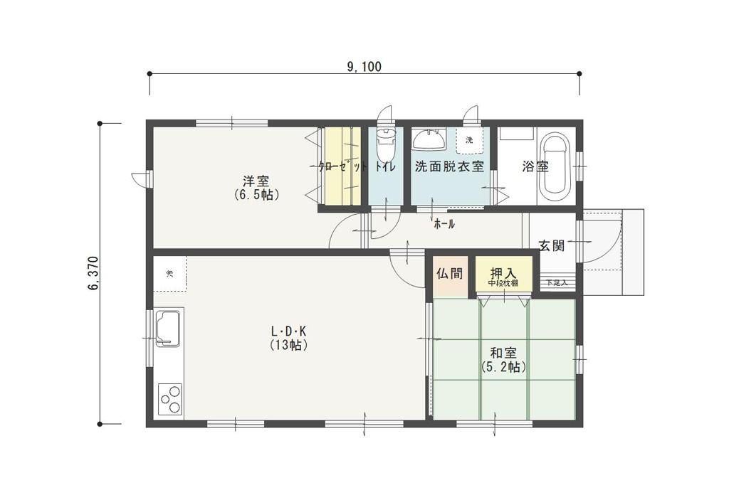 間取り 平家 【平屋30坪以上のおすすめ間取り集】南玄関や外観のポイントは?