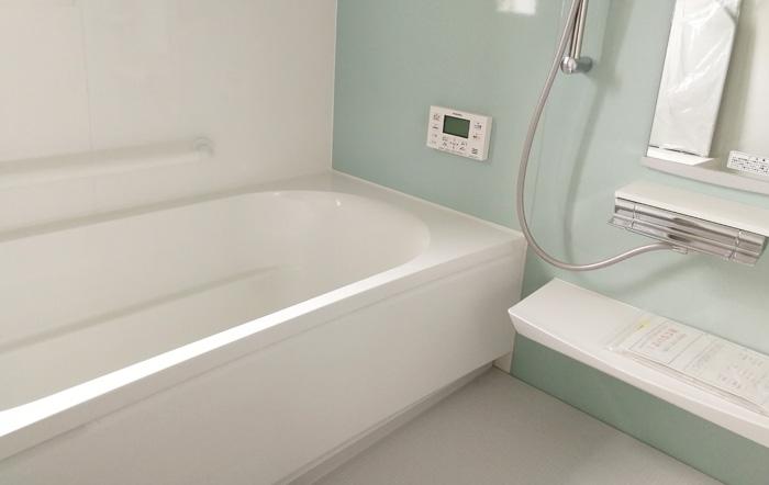 ホーローパネルの浴室
