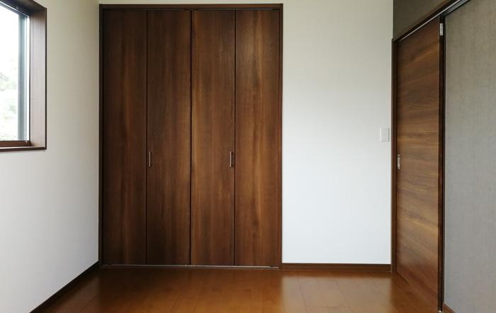 各居室にも収納をスペースがあります
