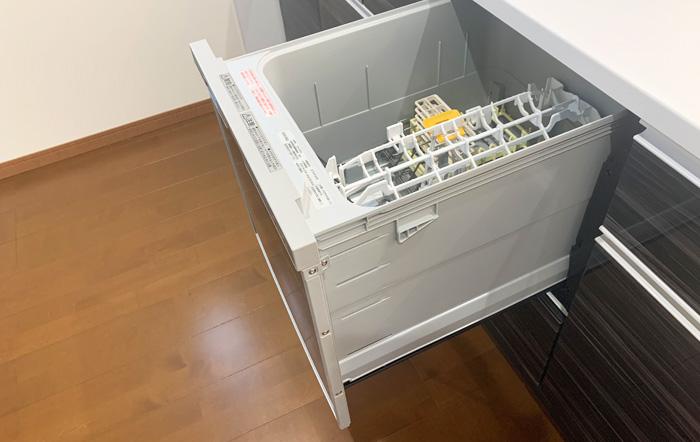 ボタン1つで自動で洗い物