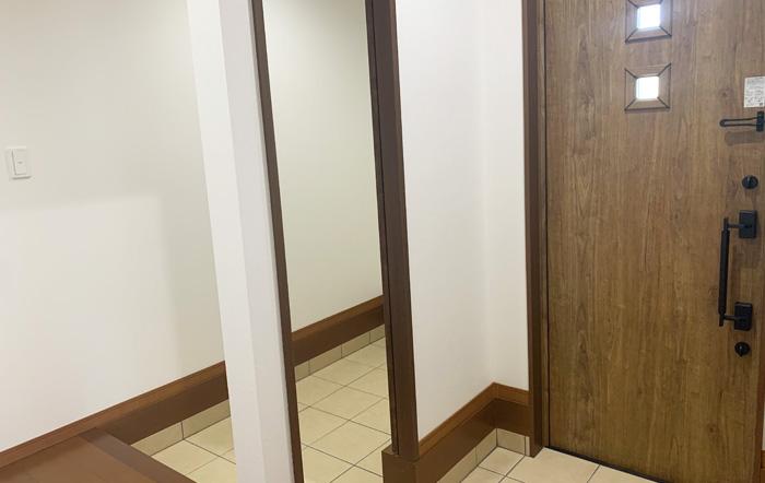 玄関にはシューズインクローゼット