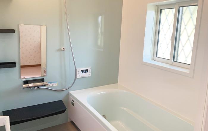 コンパクトプランのバスルーム