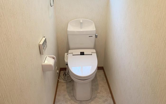 お手入れ簡単なタカラスタンダードのトイレ