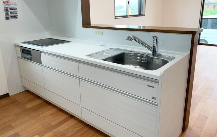 お掃除とお手入れ簡単タカラスタンダードのシステムキッチン