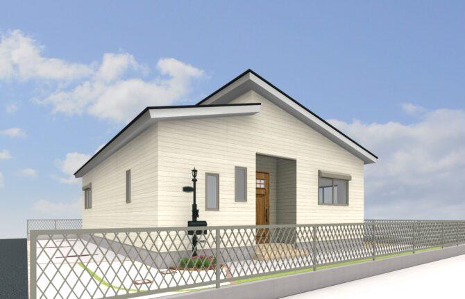 宇土神馬平屋モデルハウス